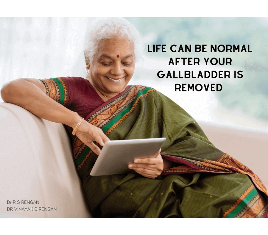 life expectancy after gallbladder removal